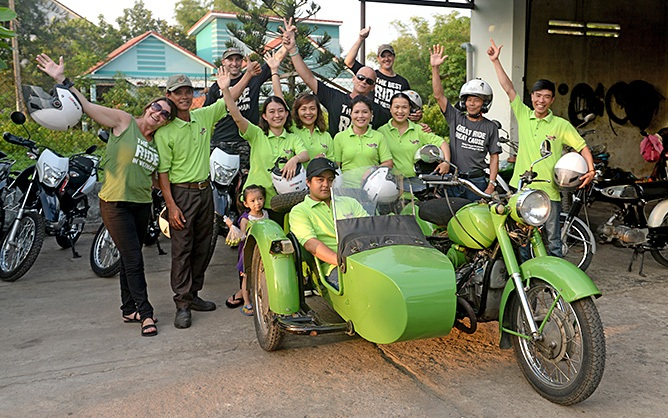 vietnam motorcycle tours about us our family