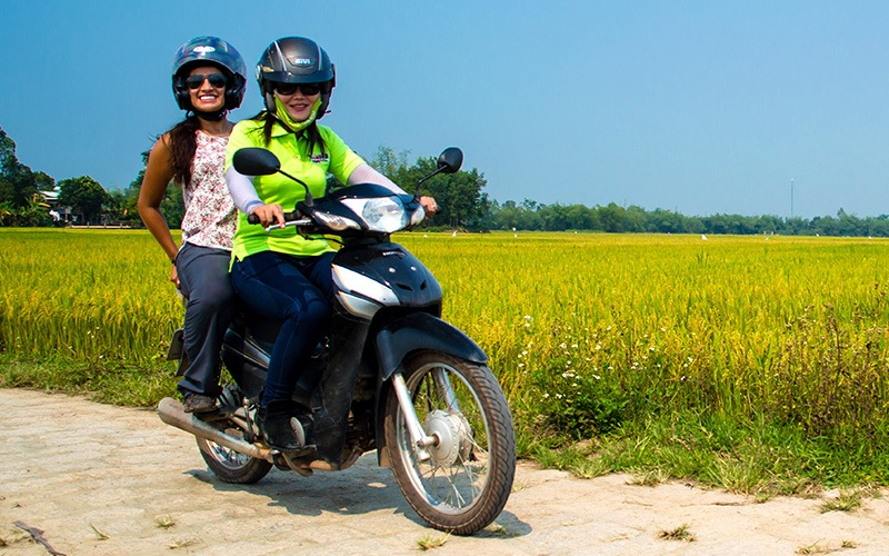 vietnam motorcycle tours travel style pillion