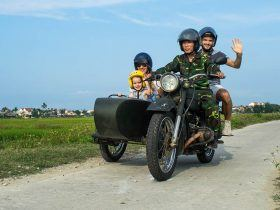 vietnam motorcycle tours Sidecar Explorer slide 1